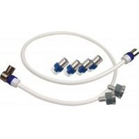 Aansluitset voor Hirschmann HMV41 / HV14 CAI Antenneversterker (SHOP SET 4114, koka9ts)
